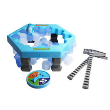 Puzzle Table Games Penguin Ice Cubes Knock Block Wall Toys Desktop Family TYPE