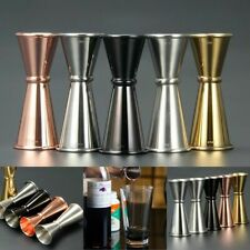 Cocktail Bar Jigger Stainless Steel Double Spirit Measuring Cup Japanese Design