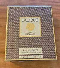 LALIQUE by Lalique Eau De Toilette Spray (Lion Head) 2.5 oz / 75 ml (Men)