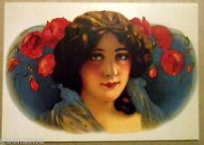 Carte postale Etiquette boite de cigares, Cigarbox label    postcard