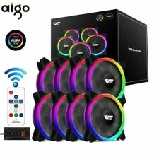 More details for darkflash dr12 pro rgb fans with controller kit x3 x5 x8 120mm pc case cool rgb