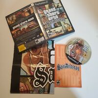 Grand Theft Auto: San Andreas - PS2 - Decent Condition - Complete - Tested Works