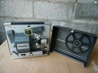 Bell & Howell 357A Auto Load Land Movie Super 8 8MM Film Projector USA