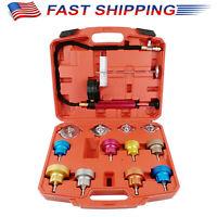 Radiator Coolant System Pressure Leak Tester Tool Detector Checker Vacuum Pump L