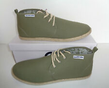 Lambretta Mens Gobi Summer Canvas Casual Chukka Desert Boots Shoes UK Sizes 7-11