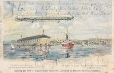 Ansichtskarten aus Baden-Württemberg mit dem Thema Zeppelin