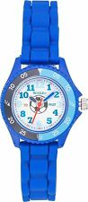 TIKKERS BOYS TIME TEACHER WHITE DIAL BLUE STRAPS WATCH FOOTBALL CHILDRENS GIFTS