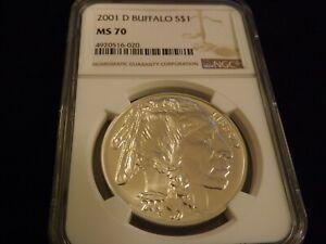 2001-D   $1        American Buffalo       NGC  MS 70