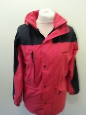 SCANDA SIZE SMALL RED / BLACK WALKING / HIKING COAT