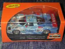 """Slot.it Nissan R390 GT1 """"Clarion"""" No.30, Le Mans 1998, SICA14c, Neu & OVP"""