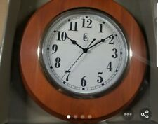 11.5 inch Wooden wall clock