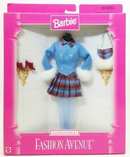 Barbie Internationale Fashion Avenue Blue And Brown Outfit No.18106 NRFB