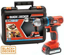 BLACK & DECKER TRAPANO AVVITATORE 1 BATT. LITIO V14,4 AH 1,5 EGBL14K-QW
