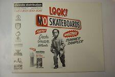 Dwindle DIST Skateboard catalogo 2001 Cieco Enjoi DARKSTAR DECA skate ART. RARA
