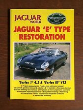 Jaguar World, Jaguar Enthusiast: Jaguar 'E' Type Restoration