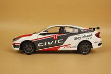1/18 2016 China New Honda civic racer diecast model  + gift