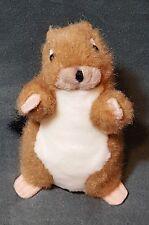 "2003 Prairie Dog Brown White K & M International Swivel Head Plush 8"" Toy"