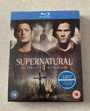 Supernatural - Series 4 - Complete (Blu-ray, 2009, 4-Disc Set, Box Set)
