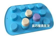 12-cavity Soap Mold Cake Mold Silicone Mould For Candy Chocolate