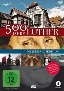 500 Jahre Luther - Auf den Spuren des Reformators - Die Jubilä [3 DVDs/NEU/OVP]