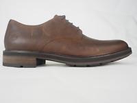 Mens Timberland Windbucks PT OX Buckthorn A23MQ Dark Brown Leather Formal Shoes