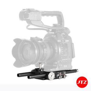 JTZ DP30 Film Camera Cage Baseplate Rig For Canon Cinema C100 C300 C500 I II