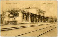 Alte AK Bahnhof Grajewo