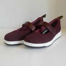 NEW Dr Doc Martens ASKINS KNIT Mary Jane Casual Sneaker OXBLOOD Women Size 8