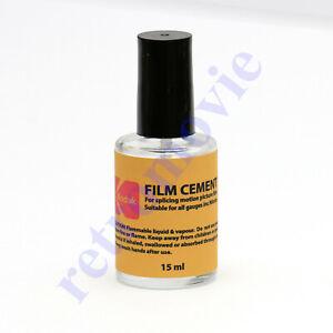 Cine Film Cement for Splicing All Gauges of Movies 15ml Bottle KODAK ORIGINAL