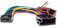 Radio Adapter für JVC Radio KD Modelle 16 pol. Stecker 22x10mm Ersatzkabel