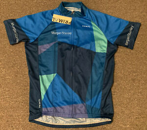 Morgan Stanley Primal Cycling Jersey Sz S NEW NWT Employee Staff Bank