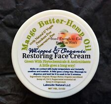 Instant Repair Face Balm - Mango Butter Hemp Oil Hydration Cream For Mature Skin