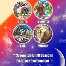 Bigfoot Season's Series (All 4 Seasons Collectible Set)