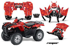 ATV Graphics Kit Decal Sticker Wrap For Honda Rancher AT 2007-2013 REAPER RED