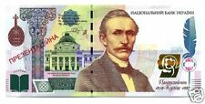 Ukraine 2009 Presentation 1000 Uah Banknote Kulish in Folder, Ukr. Language Rare