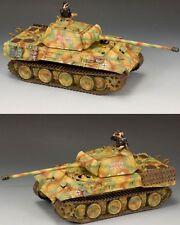 KING & COUNTRY WW2 GERMAN ARMY WS176 PANTHER AUSF. A TANK SET MIB