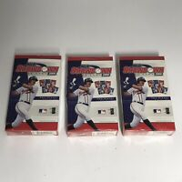 3x NEW Sealed MLB Showdown Card Game 2000 Two Player Starter Set WOTC (SET OF 3)