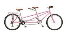 """Viking Pink Link Unisex 26"""" Wheel 21 Speed 17""""/15"""" MTB Mountain Bike Tandem"""
