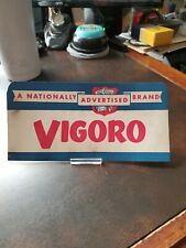 Vintage 1930s Country Store Counter / Window Sign- Vigoro