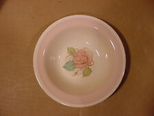Susie Cooper Patricia Rose Cereal or Dessert Bowls (Light Pink Rim) Crown Works