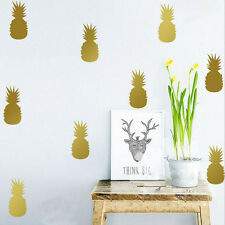 1set Multicolor Removable Home Pineapple Wall Stickers Art Room Decoration