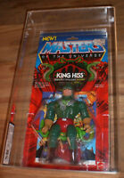Masters of the Universe - KING HISS MOC - MOTU 1986 - UKG GRADED & CASE - US AFA