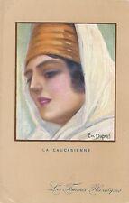 POSTCARD     GLAMOUR     WWI        La  Caucasienne                Dupuis