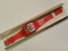Beat It Watch MICHAEL JACKSON Rare RED - Very Vintage