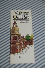 Visiting Our Past - Vintage National Geographic Guide to American Sites -- 1977