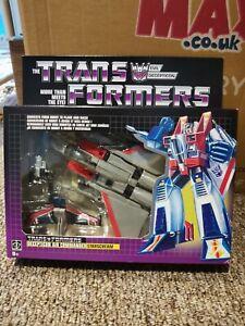 Transformers G1 Target reissue Decepticon Starscream sealed new MisB genuine