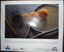 1988 Wayne Gretzky Celebrity Tennis Poster & Program