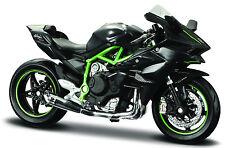 Kawasaki Ninja h2 R, maisto moto modelo 1:18, nuevo, embalaje original