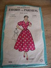 ANCIEN  LES PATRONS FAVORIS & PARISIENS ROBE A DANSER  TAILLE 44