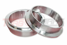 """Stainless Steel anschweissringe V-Band 2,5 """" Inch 2 1/2in Exhaust Flange for"""